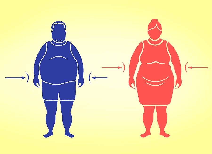 Jablko či hruška? Formy postavy určujú typ obezity