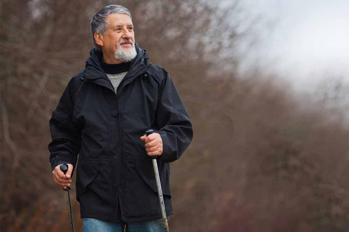 Nordic walking – správna technika chôdze