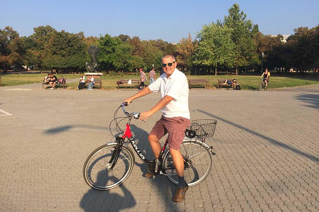 Prečo chodím do práce na bicykli