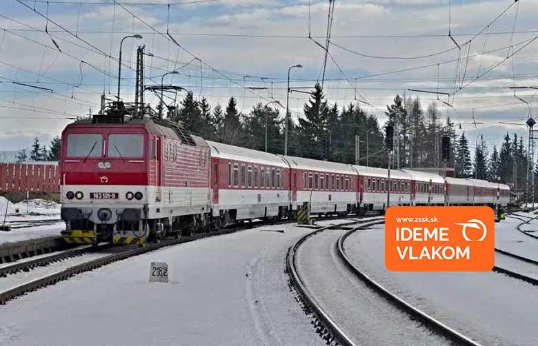 ZSSK: Vlak oslobodzuje
