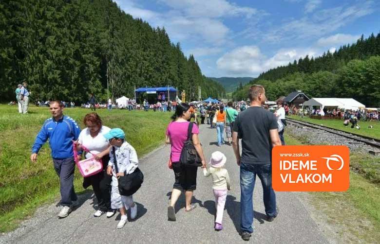 ZSSK: S deťmi za Čiernohronskou železnicou