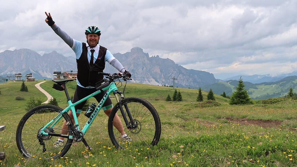 Sella Ronda kultový cyklokruh Dolomitov