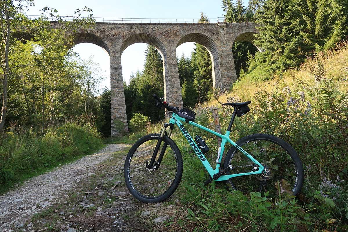 Muránska planina vlakom a bicyklom