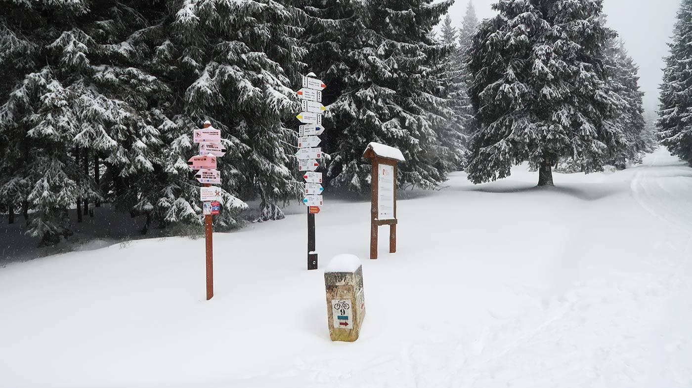 Krožovatka na Snežníku