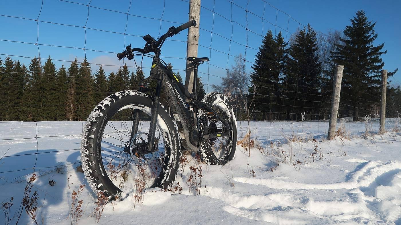 Fat bike v akcii