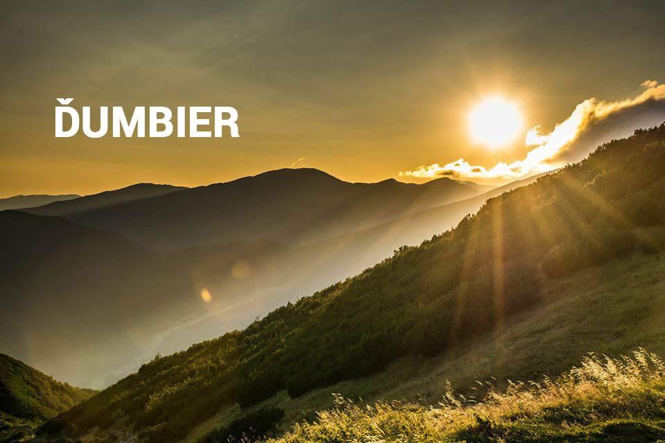Ďumbier, Nízke Tatry - turistické trasy, cyklotrasy