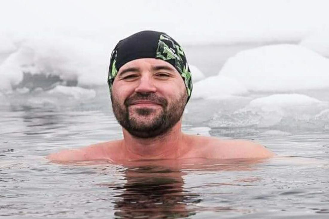 Ľadové cencúle a otužovanie: 7 otázok pre Doda Šimončiča