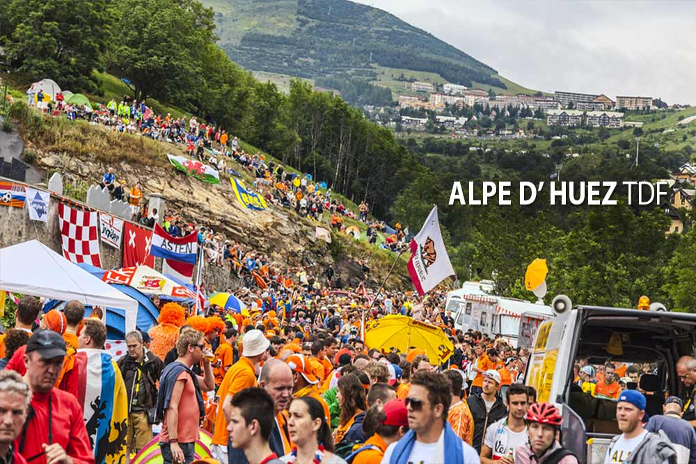 Alpe d'Huez – kráľovská horská etapa Tour de France