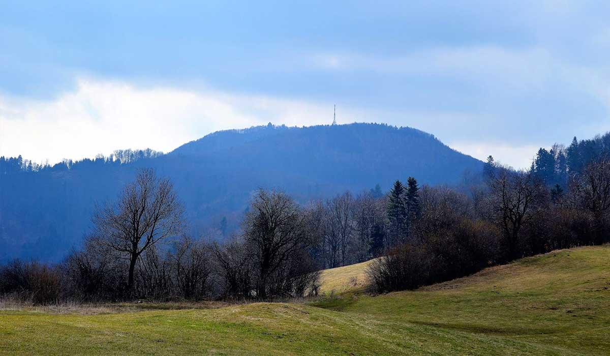 Richňavský tajch - Banská Štiavnica - turistické trasy/ cyklotrasy