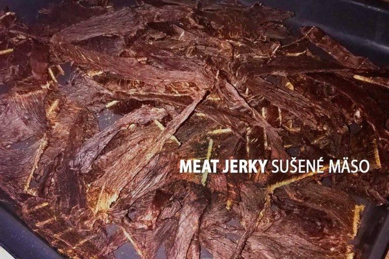 Meat Jerky Sušené mäso