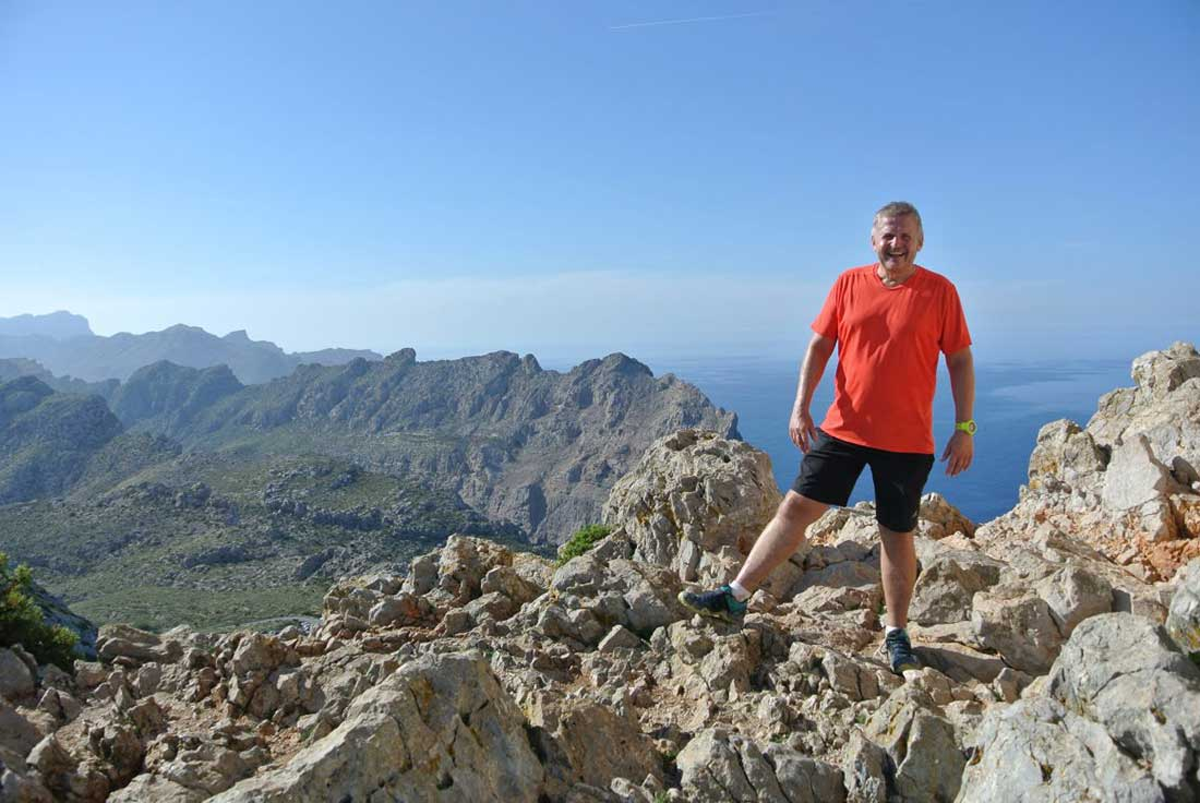 Najkrajšie turistické traily Mallorca. Fromentor