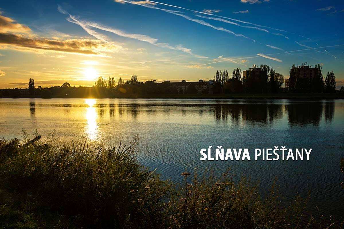 Sĺňava, Piešťany – turistické trasy/ cyklotrasy