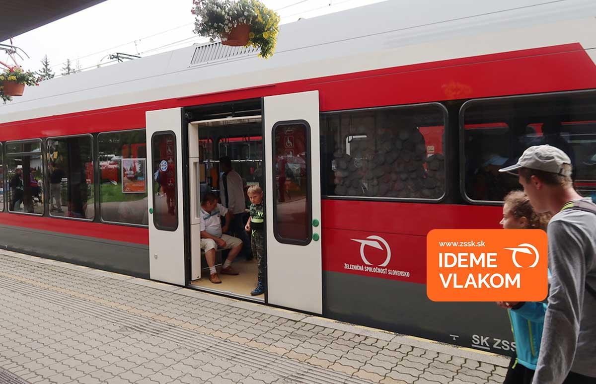 Videopozvánka na výlety vlakom ZSSK
