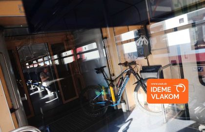 Kremnická Skalka vlakom a bicyklom