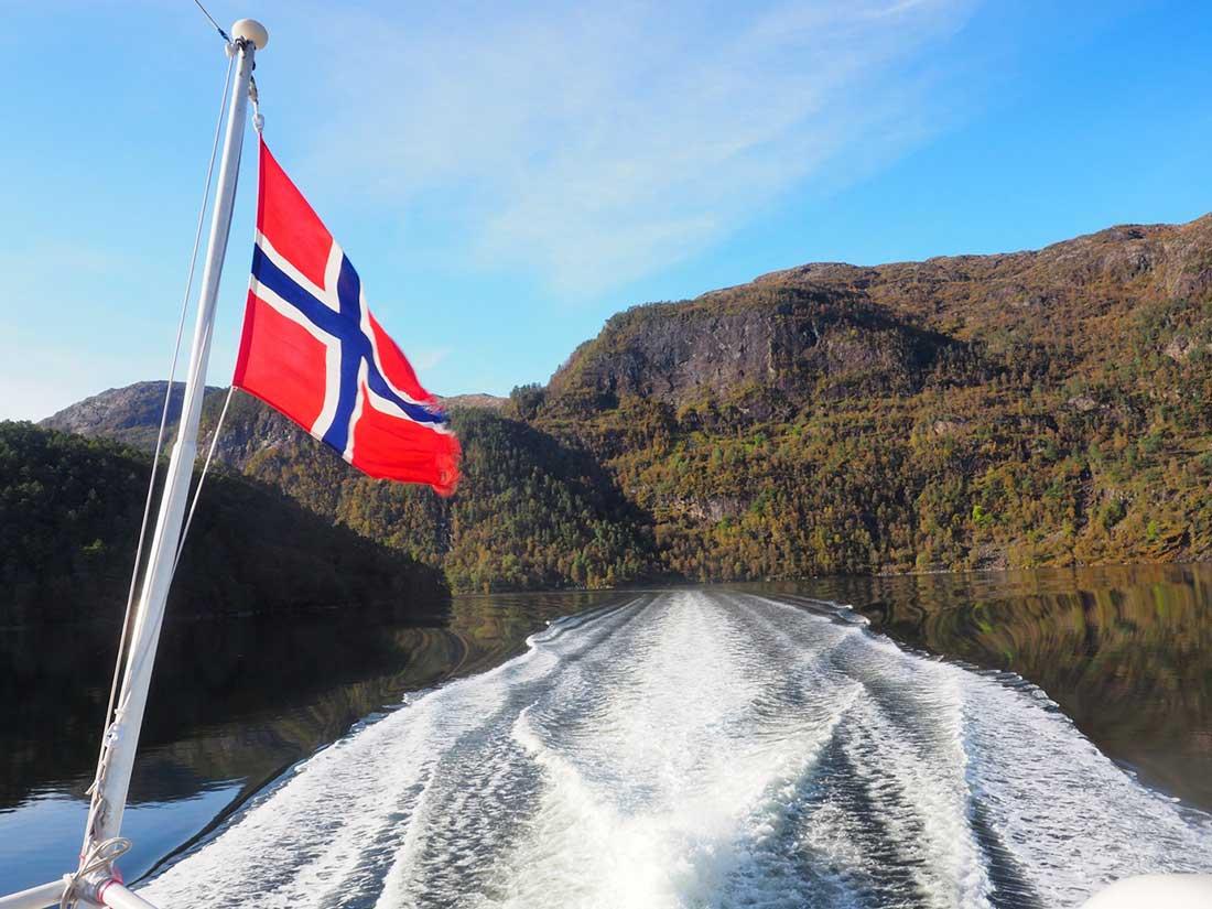 Zápisky s Nórska Bergen