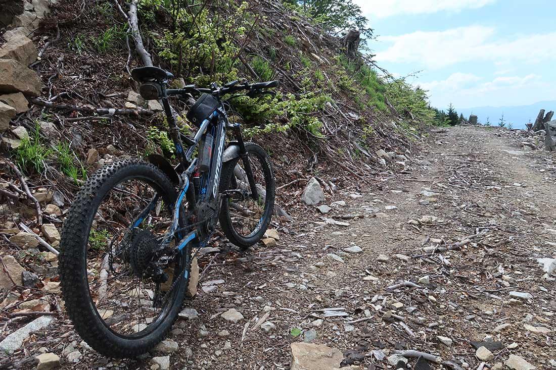 Sučianskou dolinou pod Malý Kriváň z Vrútok vlakom a bicyklom