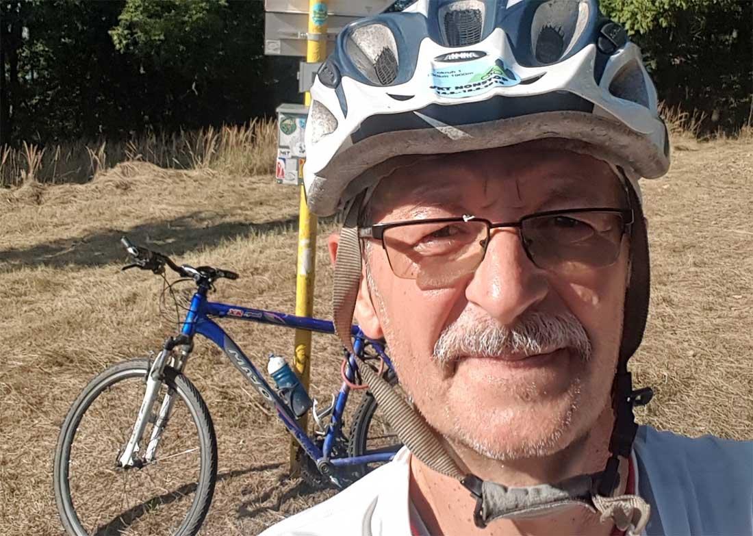 """Neplánovaný Tríbeč na bicykli na """"Trhlinu"""""""