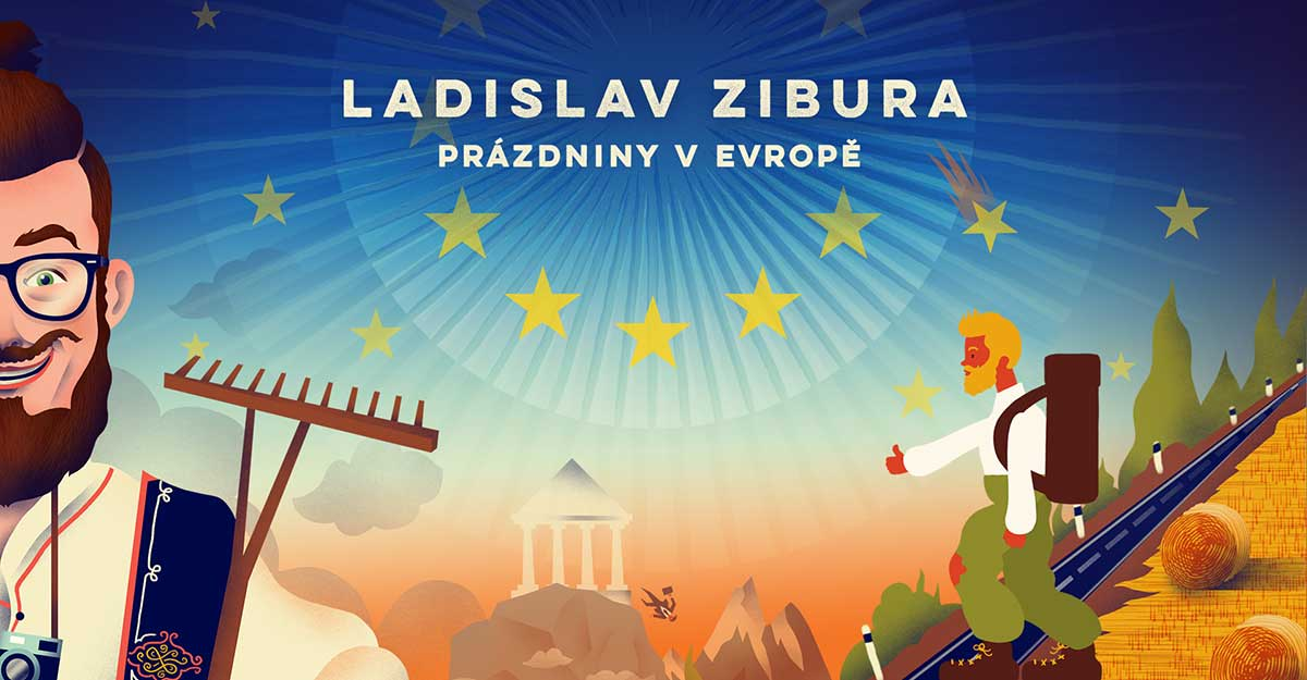 S Ladislavom Ziburom o púti naprieč Európou