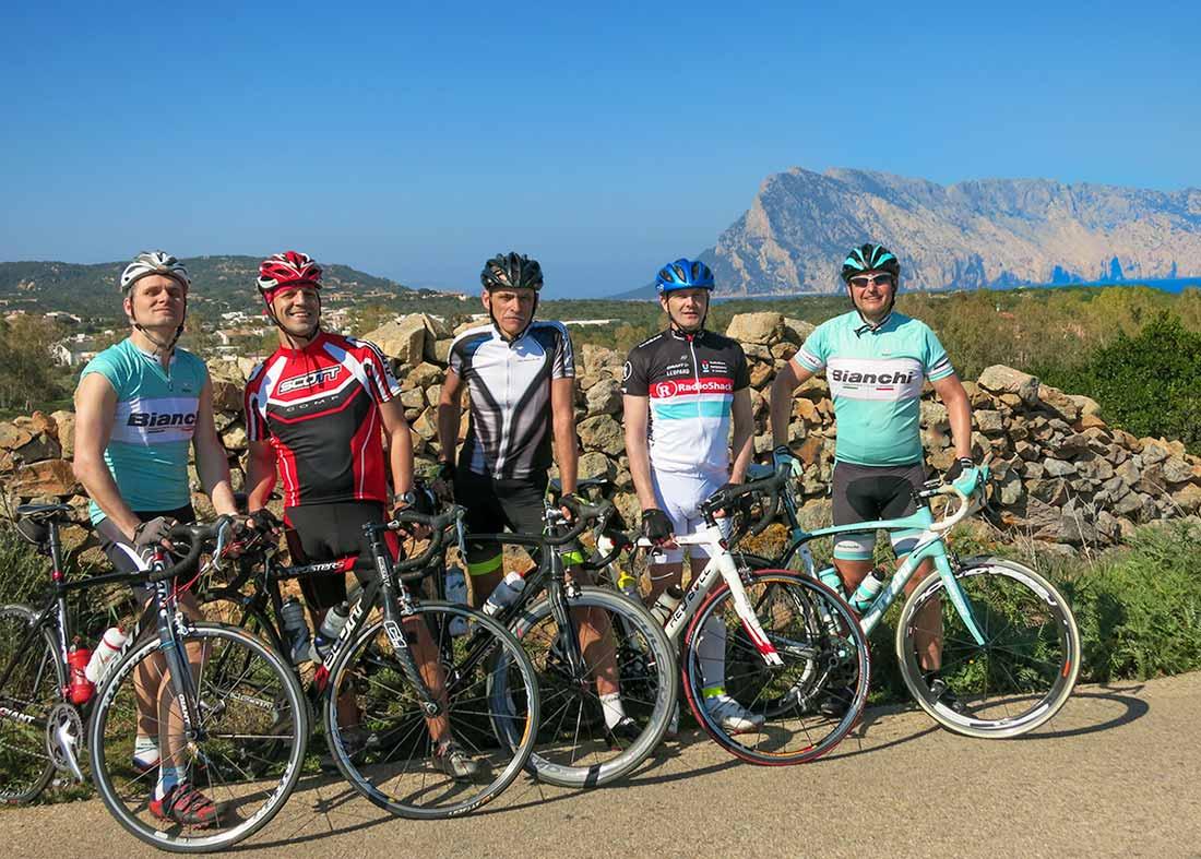 Sardínia na cesťáku Olbia rides