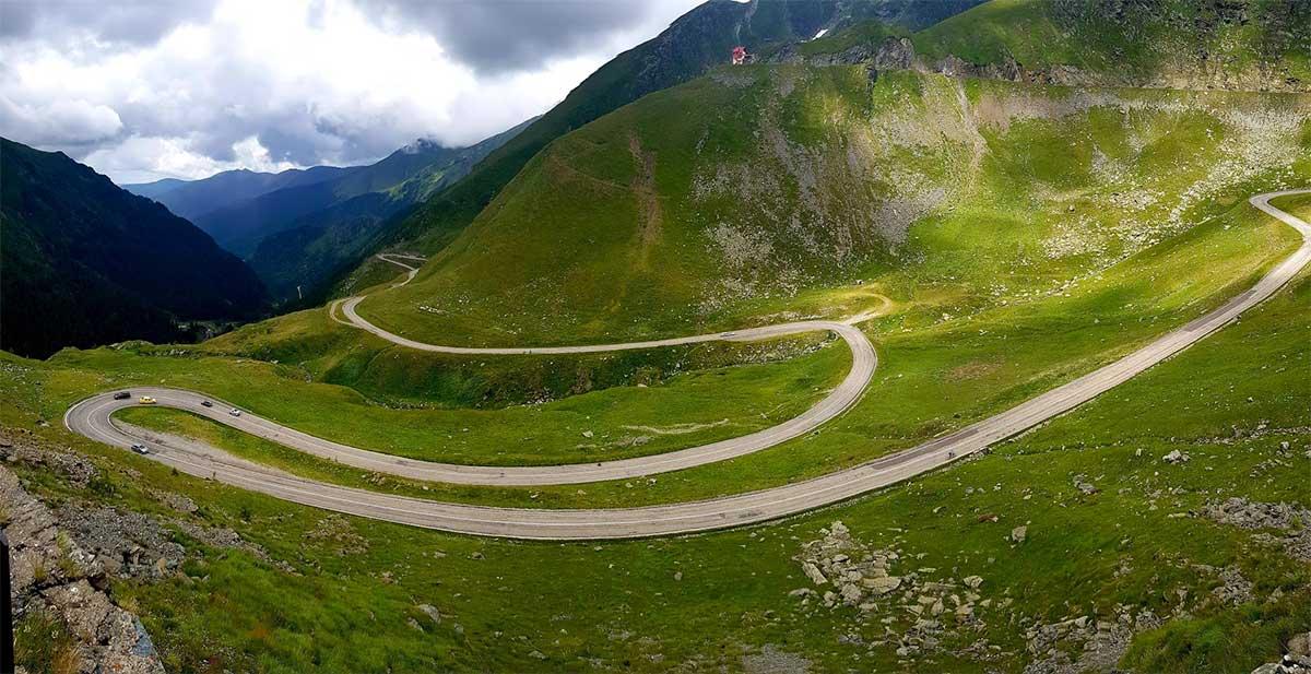 Cyklistika v Rumunsku cez Transalpinu a Transfagarasan 1