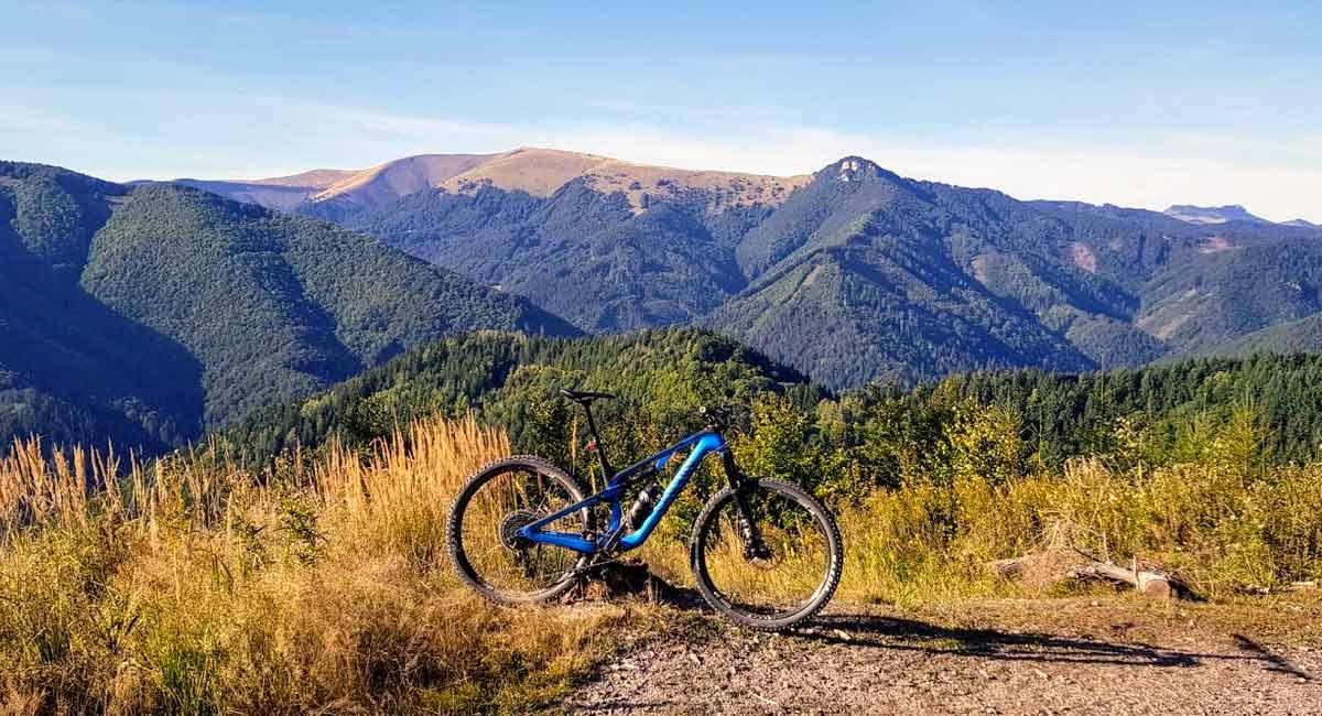 Bystrický trojboj - cyklovýlet na 3 vrcholy v okolí Banskej Bystrice