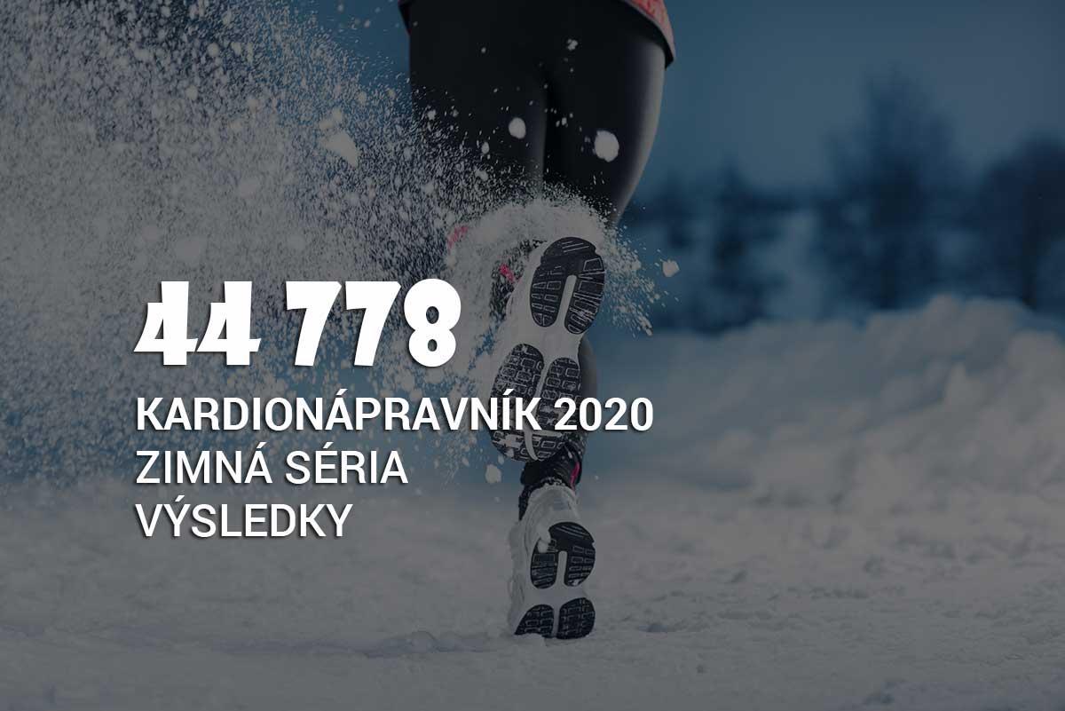 Výsledky zimnej série Kardionápravníka 2020