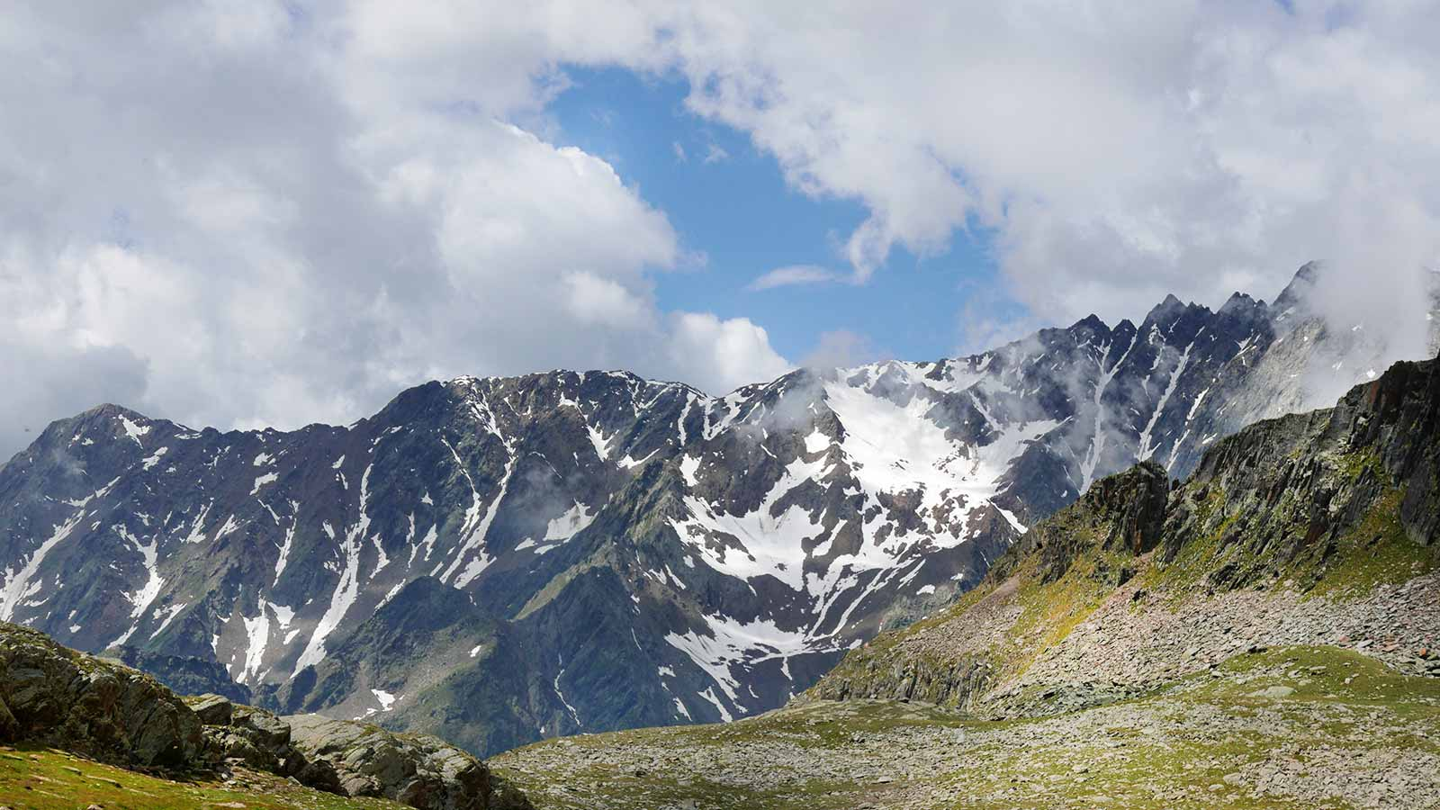 Passo di Gavia gigant Lombardie