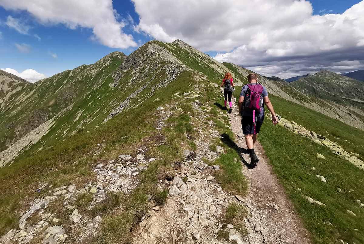 Výstup na Baníkov (2178 m n.n.) túra zo Žiarskej doliny