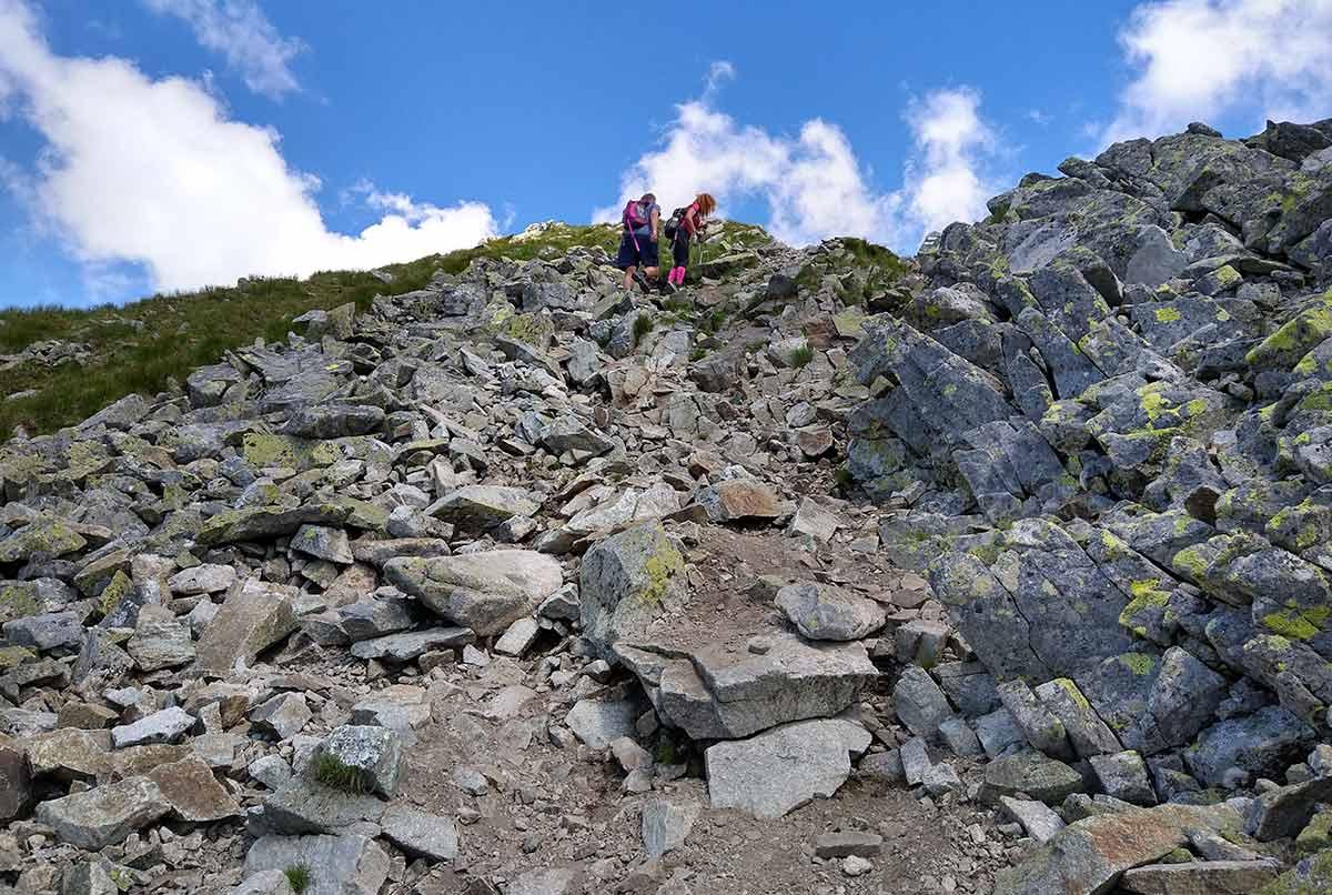 Výstup na Baníkov (2178 m n.m.) túra zo Žiarskej doliny