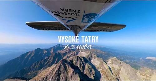 Vysoké Tatry z neba – unikátne 360° video