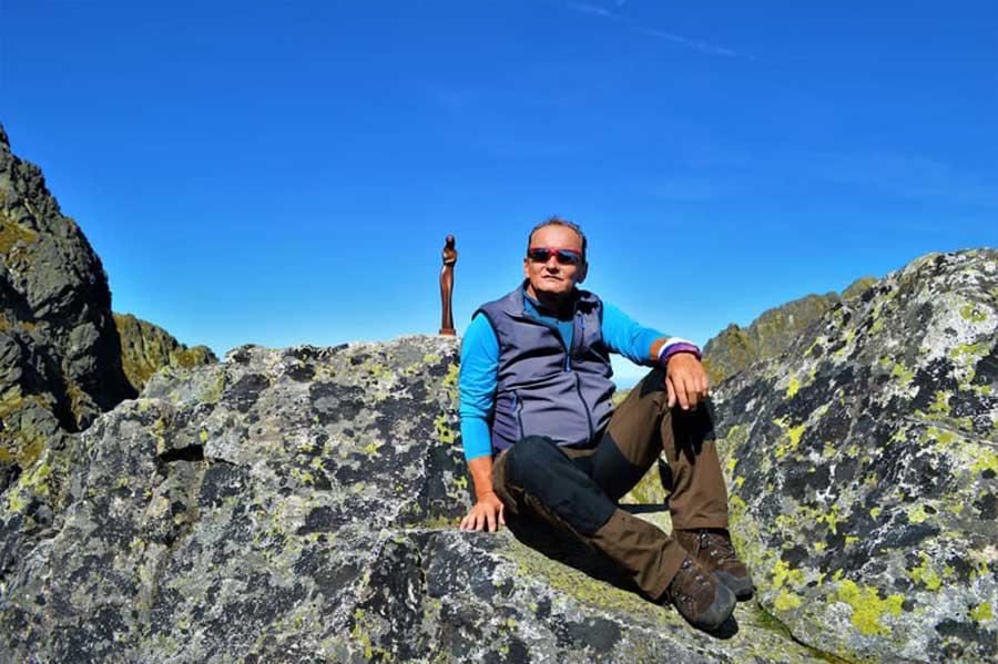 Ako vznikla zbierka kameňov Petra Stariňáka, alebo o láske k horám a Vysokým Tatrám