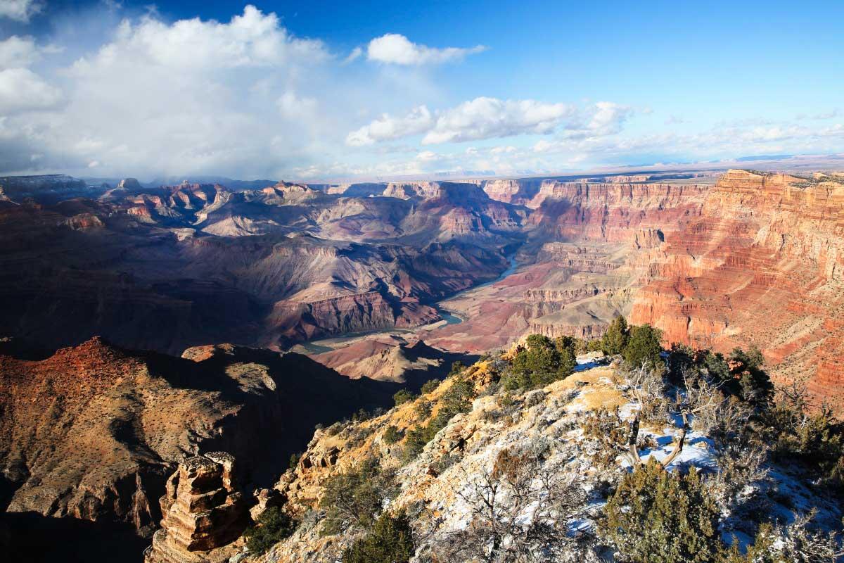 Grand Canyon: úchvatná podívaná cez 3 státy USA