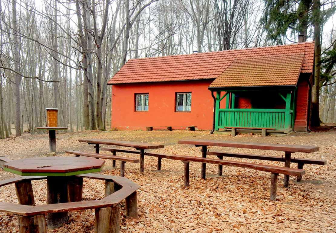 Červený domček predjarná nenáročná túra v Malých Karpatoch