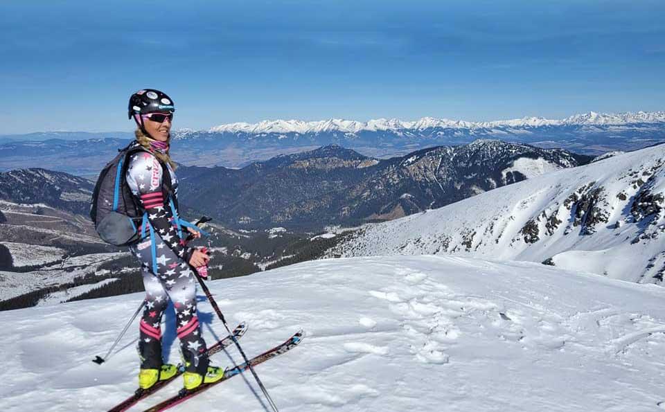 Skialp okolo Ďumbiera a Chopku, s chlpatými po hrebeni Nízkych Tatier.