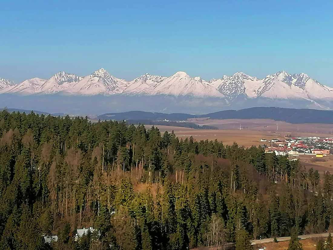 Sovia skala, Slovenský raj. Krásna vyhliadka s jednoduchým prístupom.