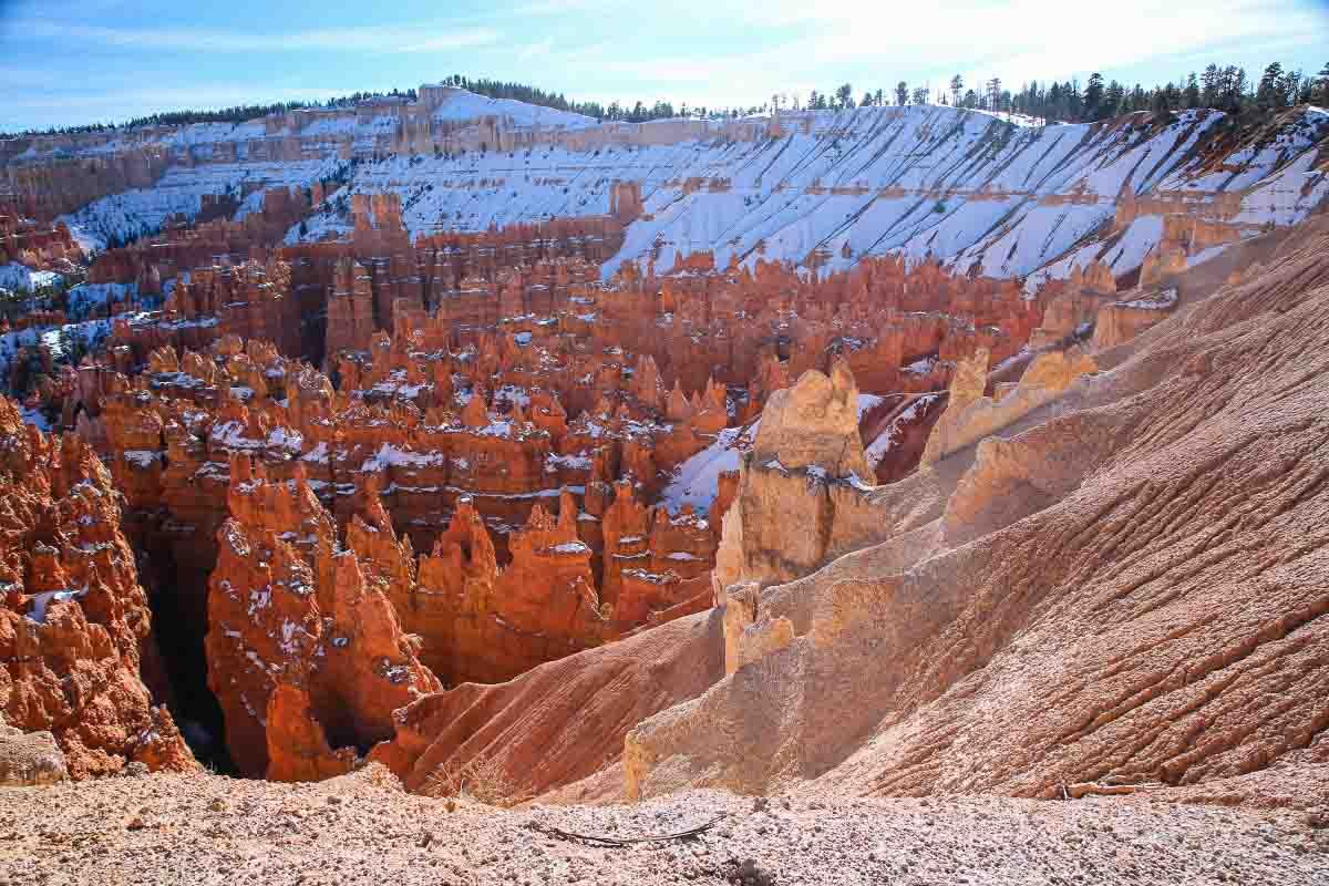 Bryce Canyon, skalnaté srdce Utahu