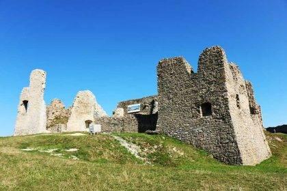 hrad Branč Malé Karpaty