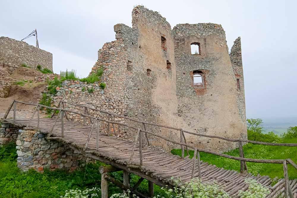 Výlet na zrúcaninu hradu Oponice