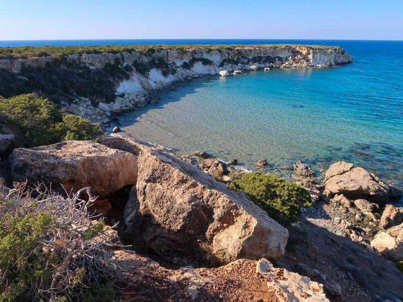 100km Cyprus trails: Akamas Peninsula pobrežné traily a najkrajšie pláže Cypru