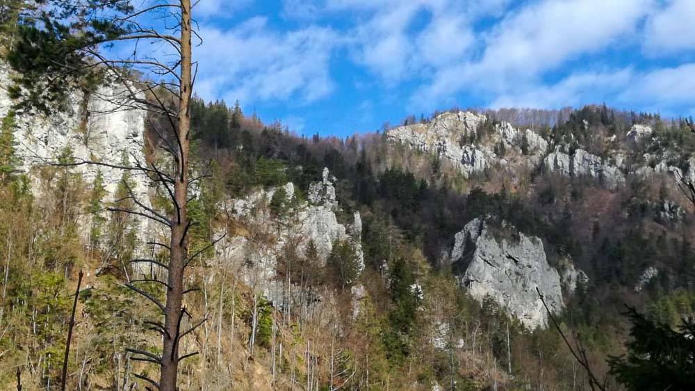 Prosiecka dolina v Chočských vrchoch
