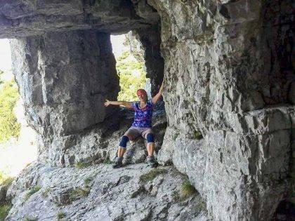 Šípska Fatra zo Stankovian, Ľadová jaskyňa, Šíp, Podšíp