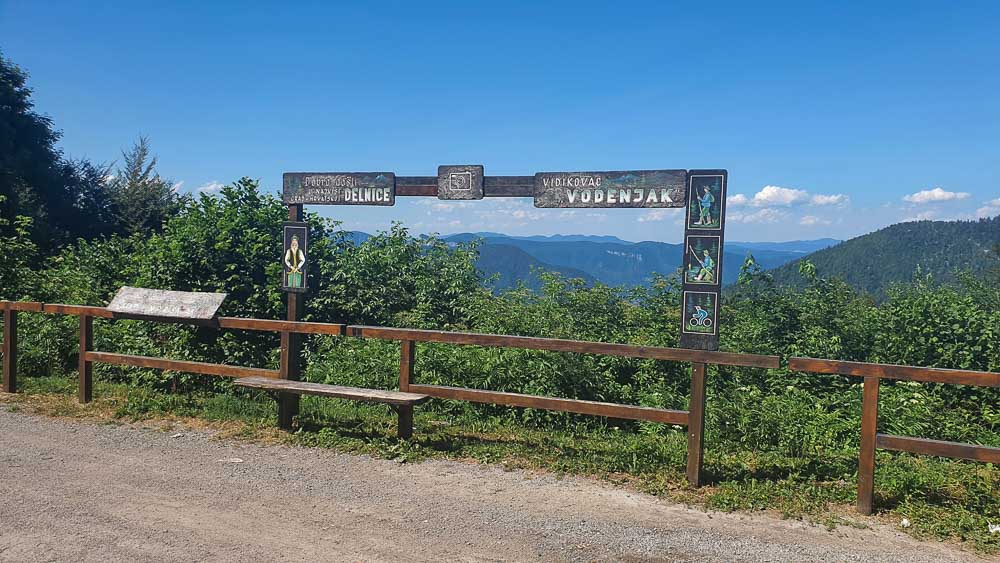 Chorvátsko na bicykli: Na Jadran