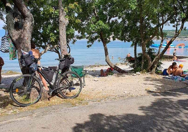 Chorvátsko na bicykli: II. časť: Stretnutie s Jadranom