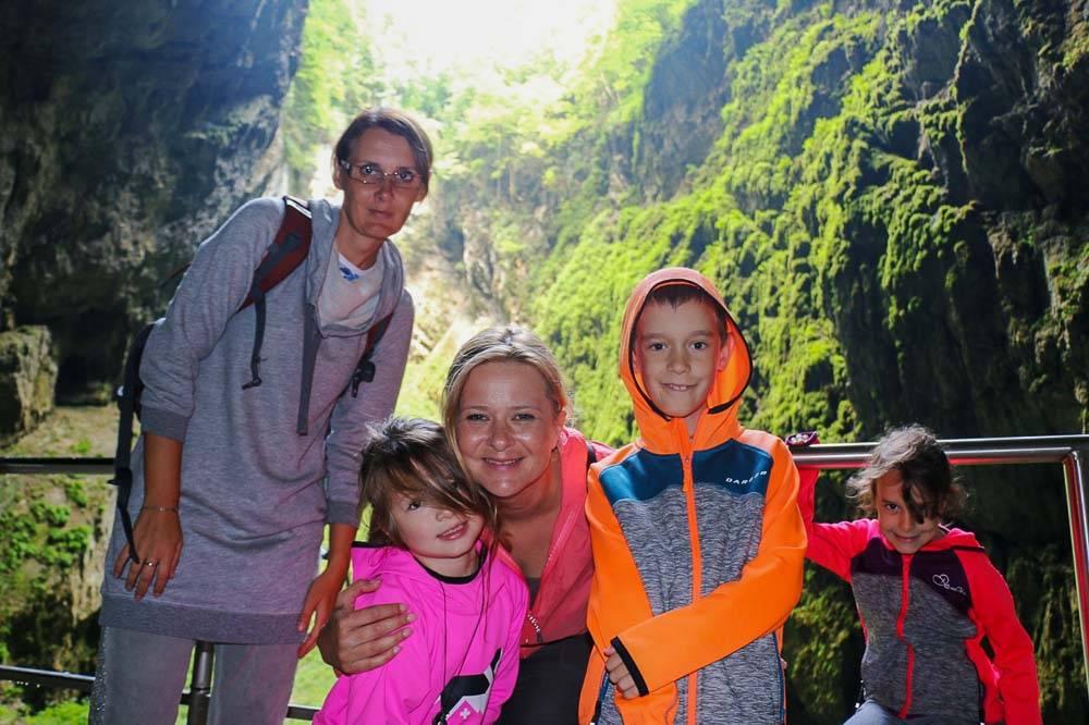 Macocha Moravský kras turistika 7 kopcov 3 jazerá