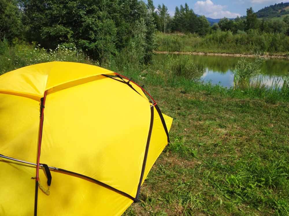Okolo Párnických rybníkov cez humnokemp