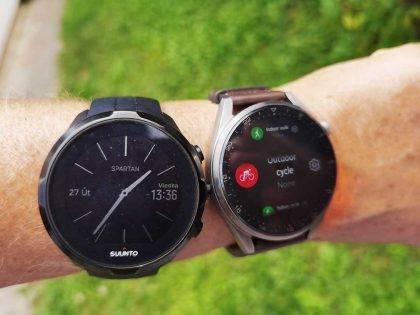Test barometra a synchronizácie hodiniek Huawei WATCH3 so Stravou