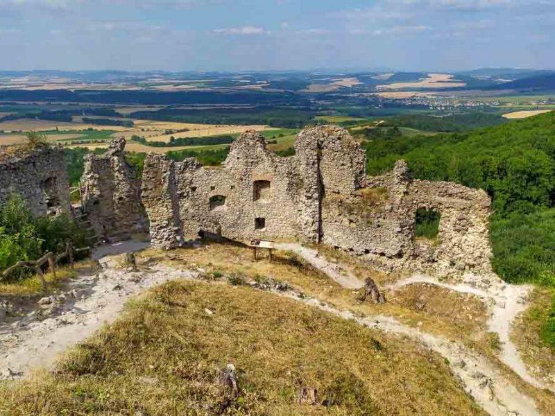 Malé Karpaty Ostrý Kameňa Korlátko