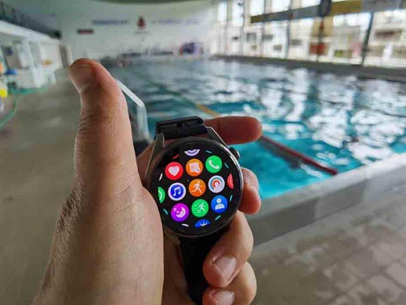Ako sa pláva so smart hodinkami Huawei Watch 3 Pro