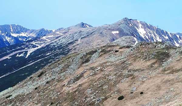 7 kopcov 3 jazerá - zoznam cieľov a trás po jednotlivých ročníkoch